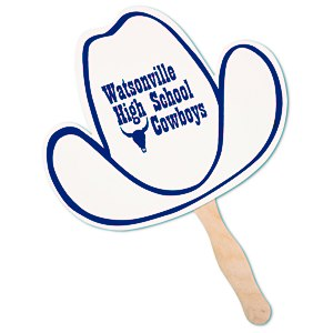 Hand Fan - Cowboy Hat Main Image