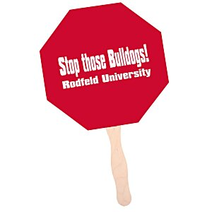 Hand Fan - Stop Sign Main Image