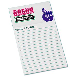 Bic Business Card Magnet with Notepad - Don't Forget Main Image
