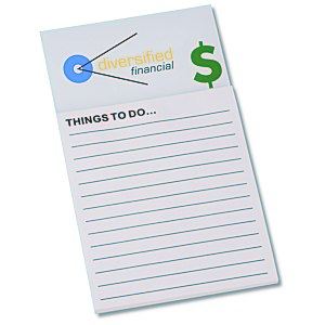 Bic Business Card Magnet with Note Pad - Dollar Sign Main Image