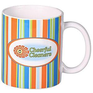 outer bank stripe designer mug 11 oz 108795 obs