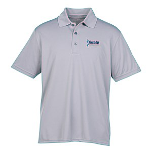 Vansport Omega Solid Mesh Tech Polo - Men's - Embroidered Main Image