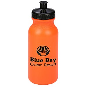 Sport Bottle with Push Pull Lid - 20 oz. Main Image