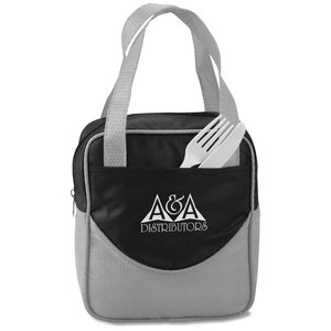 Non Woven Mini-Dot Lunch Bag Main Image
