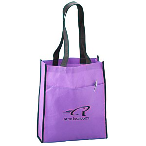 Peak Tote with Pocket Main Image