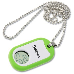 Color Time Dog Tag Watch