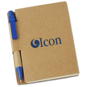 Eco Mini Notebook with Pen Main Image