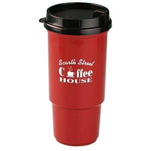 Insulated Auto Tumbler- 16 oz. - Metallic Main Image