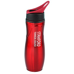 Saratoga Stainless Sport Bottle - 28 oz. Main Image
