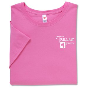 Hanes Ladies' Relaxed Fit T-Shirt - Colors Main Image
