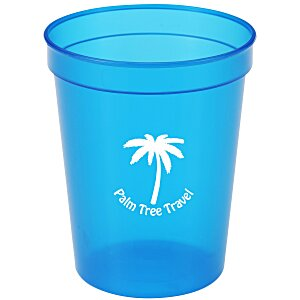 Translucent Stadium Cup - 16 oz.