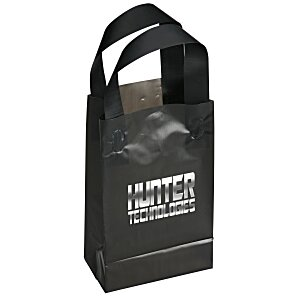 "Soft-Loop Frosted Shopper - 8"" x 5"" - Foil Main Image"
