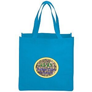 "Celebration Shopping Tote Bag - 13"" x 13"" - Full Color Main Image"