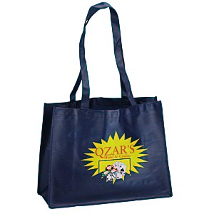 "Celebration Shopping Tote - 12"" x 16"" - 28"" Handles - Full Color Main Image"