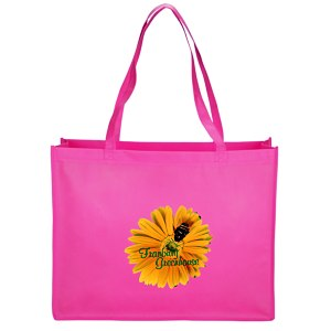 "Celebration Shopping Tote Bag - 16"" x 20"" - Full Color Main Image"
