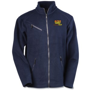 North End Bonded Jacquard Fleece Jacket - Men's