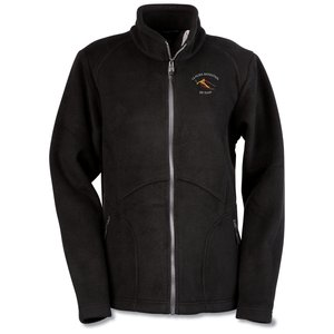 North End Bonded Jacquard Fleece Jacket - Ladies'