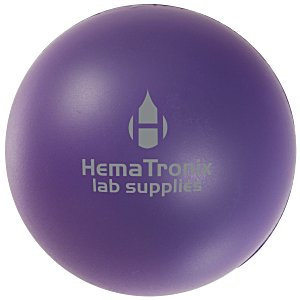 Solid Color Stress Ball - 24 hr