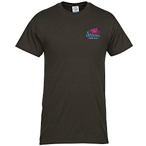 Adult 6 oz. Cotton T-Shirt - Embroidered Main Image