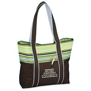 West Hampton Tote - Stripes Main Image
