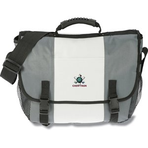 4imprint Messenger Bag - Embroidered Main Image