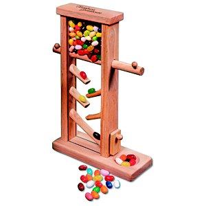 Executive Jelly Bean Dispenser - Multi-Color Main Image