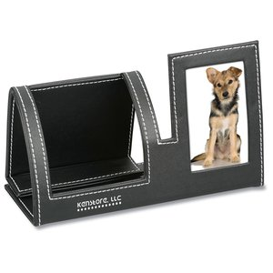 Cell Phone Stand with Picture Frame