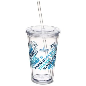 Spirit Tumbler - 16 oz. - Thanks Main Image