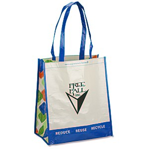 Expressions Grocery Tote - Royal Blue Main Image