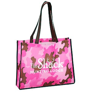 Camo Tote Bag Main Image