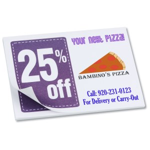 "Post-it® Discount Coupons - 3"" x 4"" - 25 Sheet - 25% Main Image"