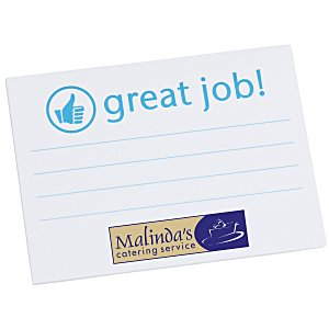 "Post-it® Recognition Notes - 3"" x 4"" - 25 Sheet - Great Job Main Image"
