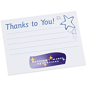 "Post-it® Recognition Notes - 3"" x 4"" - 25 Sheet - Thanks to You Main Image"
