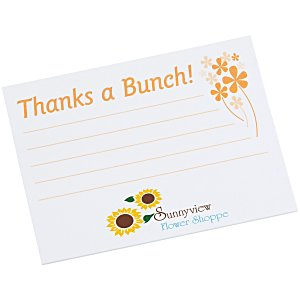 "Post-it® Recognition Notes - 3"" x 4"" - 25 Sheet - Thanks a Bunch Main Image"