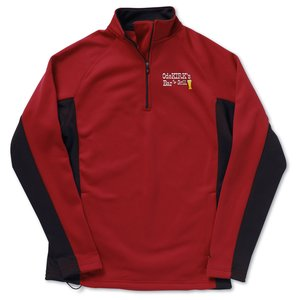 Champion Double Dry Performance Bonded Half-Zip Fleece Main Image