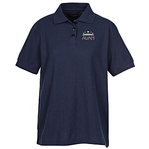 Whisper Pique 60/40 Blend Polo - Ladies'
