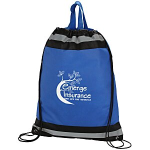 "Eagle Drawstring Backpack - 20"" x 16"" Main Image"