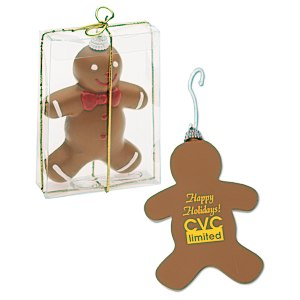 Shatterproof Ornament - Gingerbread Man Main Image