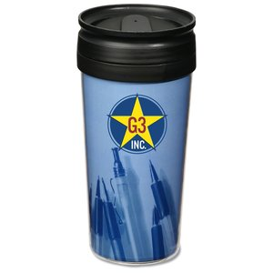 Full Color Travel Tumbler - 16 oz. - Pen Photo Main Image