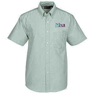 Blue Generation Short Sleeve Oxford - Men's - Solid
