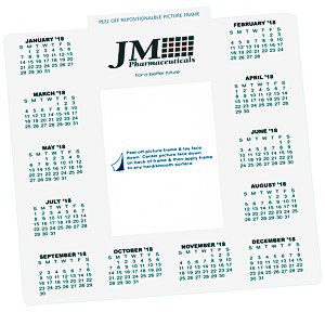 Repositionable Photo Frame Calendar Main Image