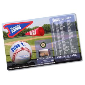 Repositionable Sticker Spirit Card - Baseball Main Image
