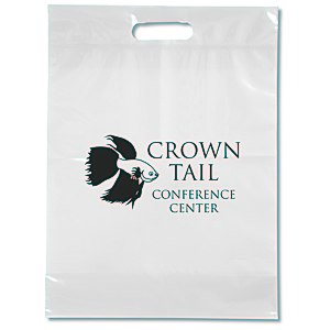 "Take Home Bag - 15"" x 11"" - Translucent Main Image"
