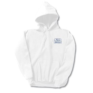Hanes ComfortBlend Hoodie – Screen - White Main Image
