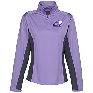 Dash UltraCool Pullover LS Sport Shirt - Ladies' Main Image