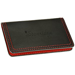 Colorplay Accent Leather Card Case Main Image
