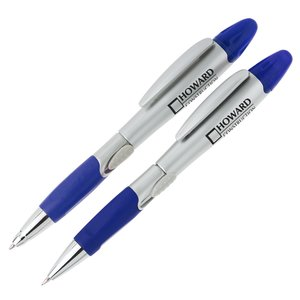Blossom Pen/Highlighter and Pencil Set - Silver Main Image