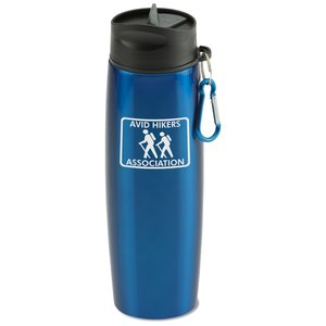 Stainless Bottle with Carabiner - 24 oz. Main Image