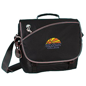 Freestyle Laptop Messenger Bag - Embroidered Main Image