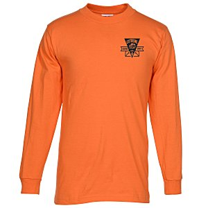 Bayside USA Made Long Sleeve T-Shirt - Colors Main Image